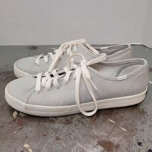 KEDS SNEAKERS 8.5 SHOES GRAY
